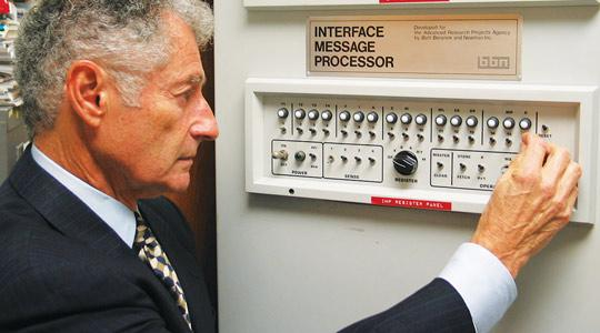 Kleinrock Tour of Boelter Hall Site of First Internet Message