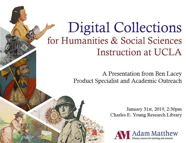 Digital Collections for Humanities and Social Sciences Instruction at UCLA
